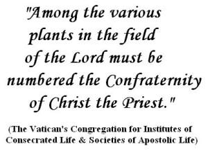 Vatican on CCS